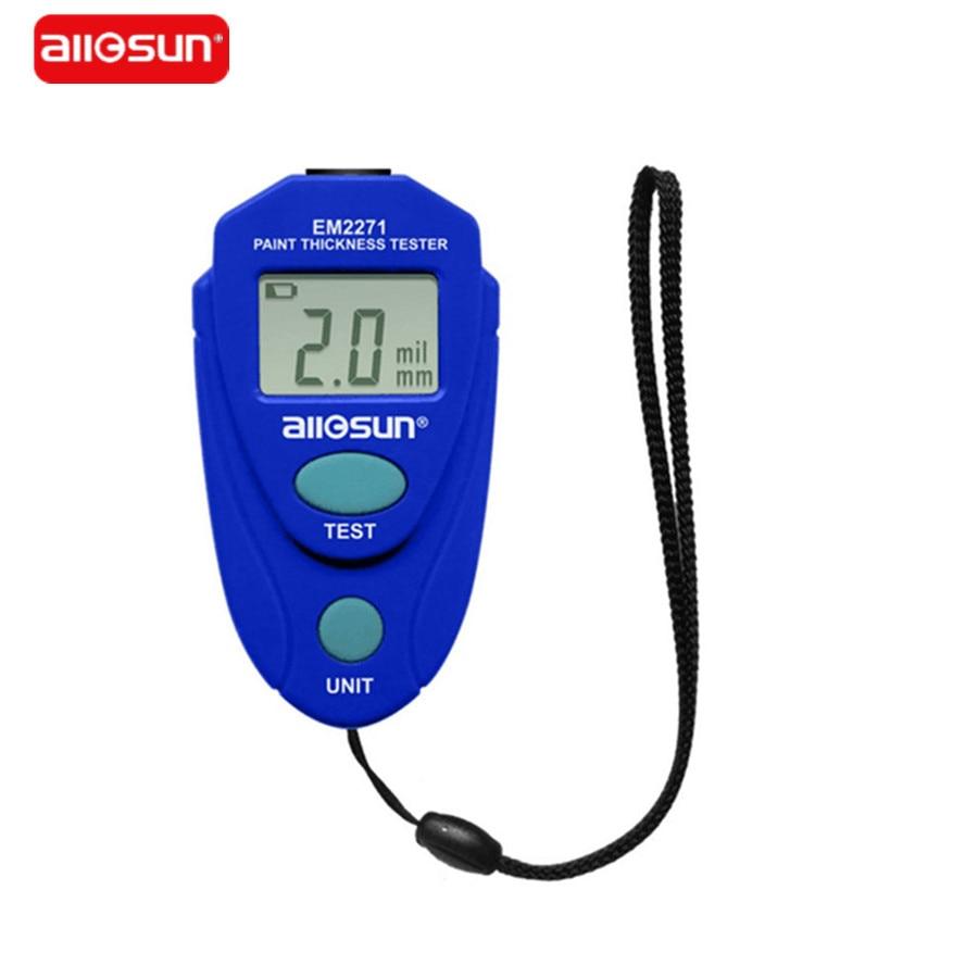 All-Sun EM2271 Digital Coating LCD Calibro di Spessore Car Dipinto di Spessore Tester Vernice Misuratore di Spessore DIY Instrument