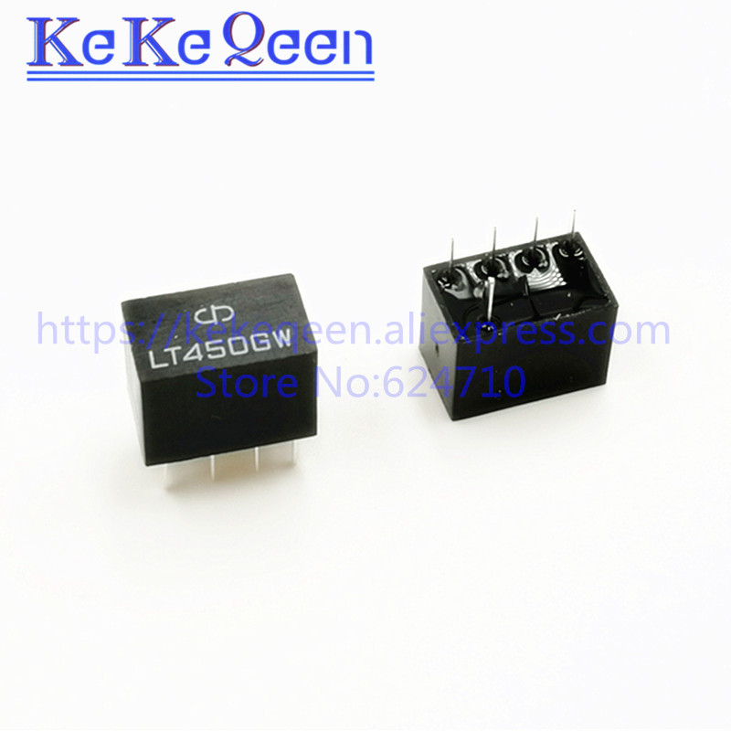 Lt450gw lt 450gw lt450g 450g 450 1 + 4 5pin 450 khz filtro cerâmico para relé de sinal comunicação novo original