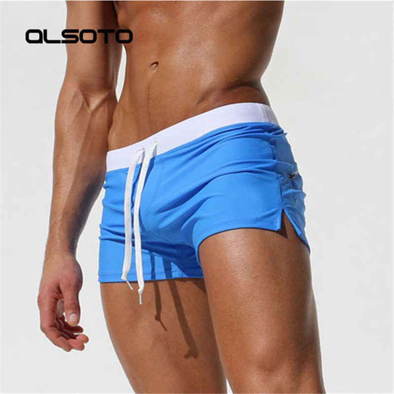 2019 Summer Swimwear Men Swimsuit Maillot De Bain Boy Swim Suits Boxer Shorts Swim Trunks Swimming Surf Banadores mayo sungas(China)