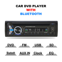 AZGIANT 12V 1 din Bluetooth Car CD DVD MP4 Player Car MP3 Card Insert U disk Radio High Power Car Radio Car Audio