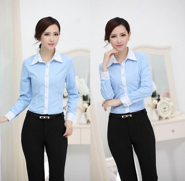Compra profesional de ropa de trabajo online al por mayor Diseno de uniformes para oficina 2017