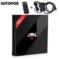 LESTOPON (Android Tv Box) Amlogic S912 3G/32G 16G 2.4G/5.8G Wifi 4 K HDR 100/1000 M LAN BT DLNA Miracast OS 6.0 Smart TV Box