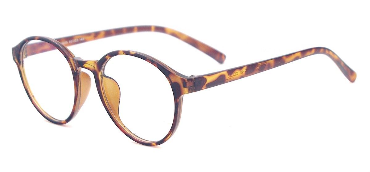 Hombres y Mujeres Grandes Ronda Monturas de gafas Anteojos Livianos ...