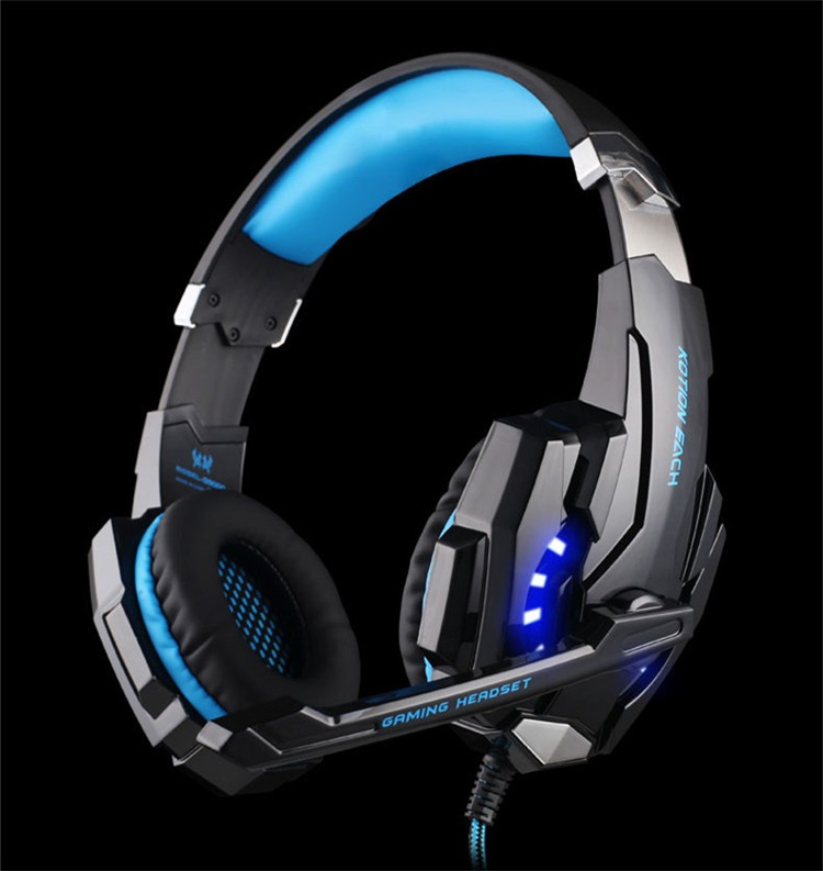 G9000 USB 7.1 Surround Sound Version Game Gaming Headphone Computer Headset Earphone Headband with Microphone LED Light (12)