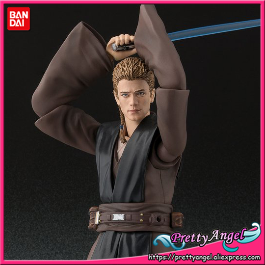 Genuine Bandai Tamashii Nations S.H.Figuarts Exclusive Star Wars Anakin Skywalker (ATTACK OF THE CLONES) Action Figure united nations the universal declaration of human rights