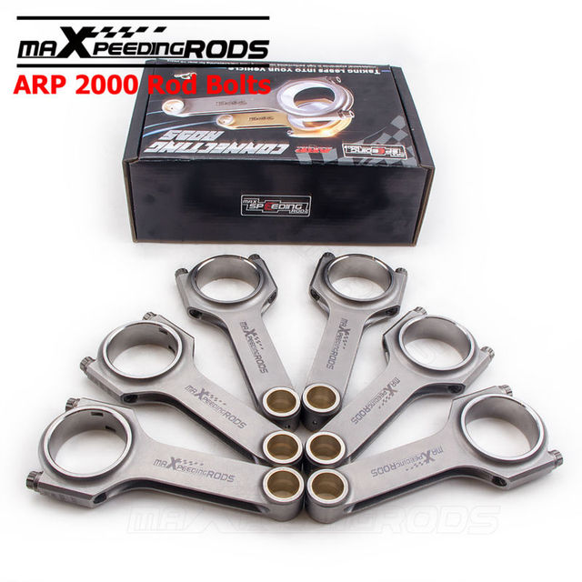Bmw Zm Coupe: Connecting Rods For BMW M50 M52 B25 TU 24V Conrod ARP