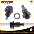 NEO CHROME M12X1.25 Engine Magnetic Oil Drain Plug Bolt Nut
