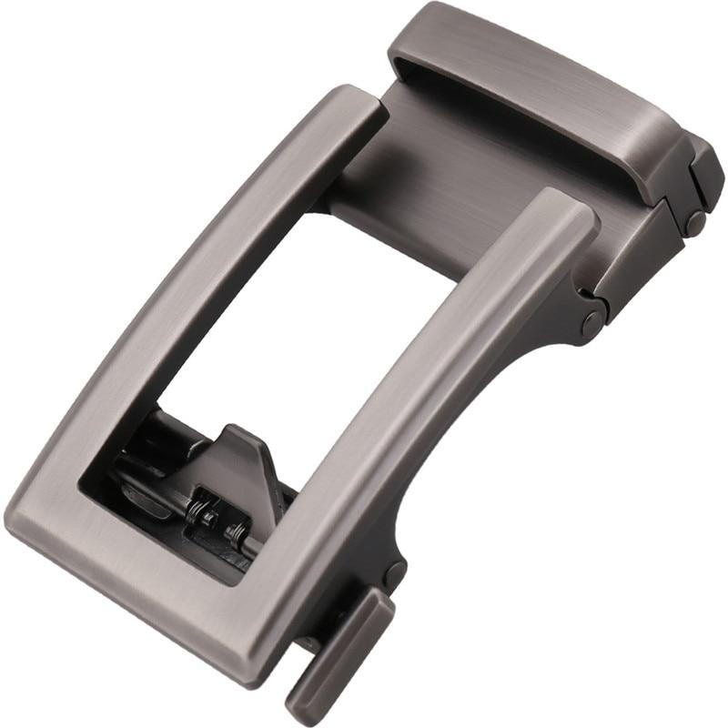 LannyQveen New Belt Buckle Automatic Buckles Ratchet Buckle Belt Accessories