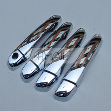 цена на ABS chrome door handle door bowl cover for HYUNDAI IX25 2015,Free shipping car-styling plating electroplate protect trim sticks