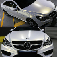 Car styling Matte Pearl White Chameleon Vinyl Wrap High Poly Pearl Car wrapping film Bubble Air Free Low price wholesale
