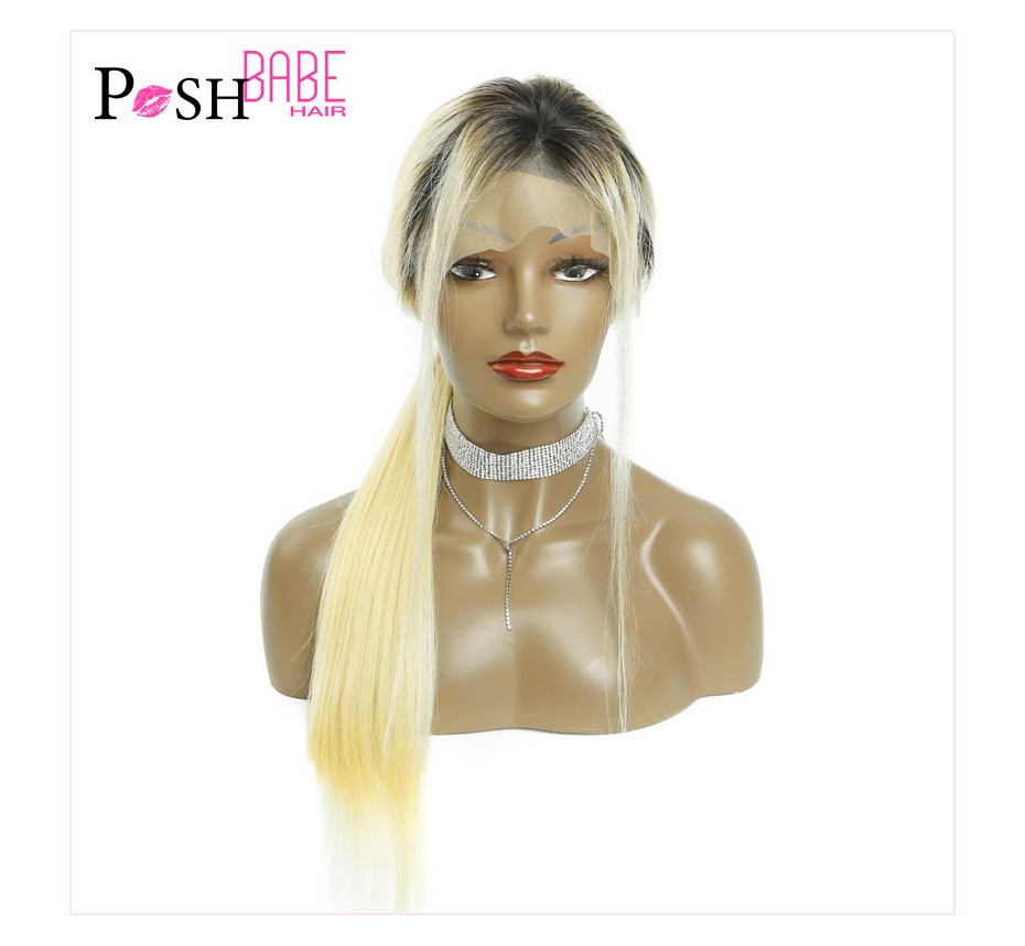 Blonde Lace Front Human Hair Wig (14)