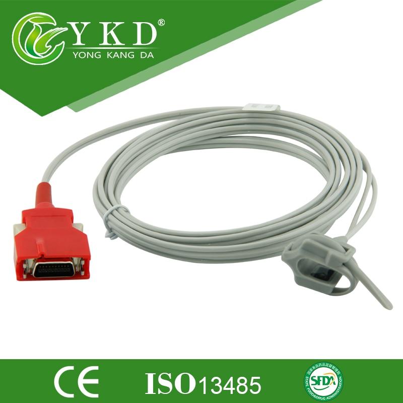 Masimo Rad-7 Rad-8 SpO2 Neoante Silicon Wrap Pulse Sensor Probe 2201 DCI-DC-3 Rainbow Red 20Pin rad