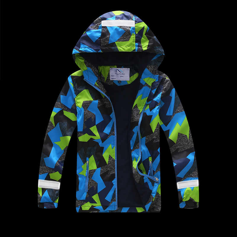 f42c475be New 2019 Spring Autumn Children Outerwear Jackets Sport Fashion Kids Coats  Double-deck Waterproof Windproof