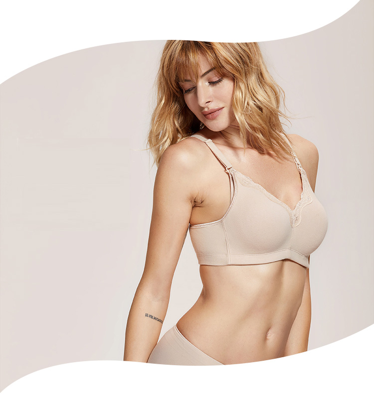7ac4e72e43205 Cotton based maternity   nursing bra. Supporting a range of sizes from 34  to 48 band and A to F Cups. Wire free and perfect for sleeping and nursing  using ...