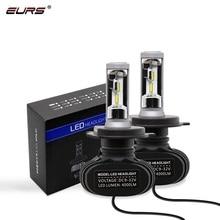 EURS 2pcs hot sale headlight kit H1 9012 9004 H16 H27 H3 H4 H11 H7 CSP