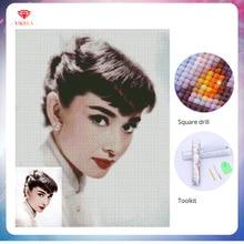 YIKELA 5D Diamond Painting Full Square Accessory Rhinestone Embroidery DIY Drill Photo Custom Holiday Gifts