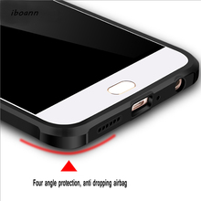 iboann Top Quality Airbag Anti-knock armor matte soft Case for oppo R9S / R9S plus / R11 / R11 plus phone cases