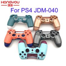 Replacement Full shell and buttons mod kit jds/jdm 040 For DualShock 4 PlayStation 4 PS4 Pro Slim Controller Housing Cover Case