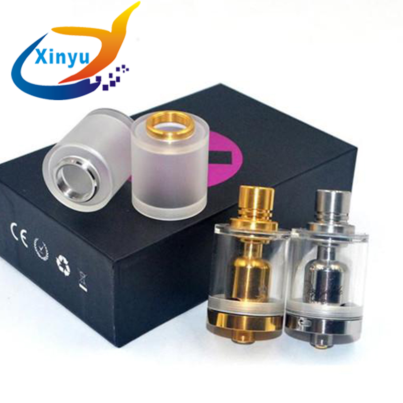 Doggy Styled RTA Doggystyle2K18 RTA 3.5ml Storage Double Warehouse Bottom Adjustable Airflow Control Rebuildable Atomizer