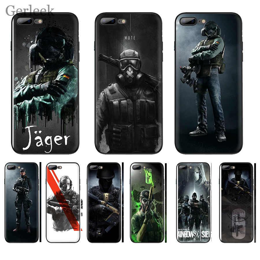 โทรศัพท์กรณี Grand Core Prime Alpha Rainbow Six Siege Operation สำหรับ iPhone 6 6 S 5 5S SE XR X XS สูงสุด 8 7 6 Plus