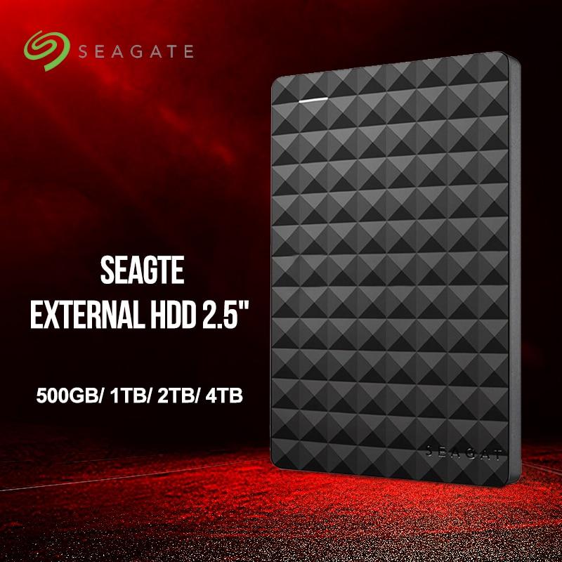 Seagate Expansion Hdd 500 Gb 1 Tb 2 Tb 4 Tb Tragbare Externe Festplatte Festplatte Usb 3.0 Hdd 2,5 Für Desktop Laptop Macbook Ps4 Externer Speicher