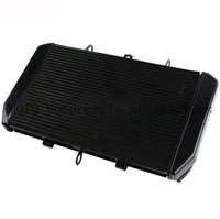 Aluminum Motorcycle Oil Cooler Radiator Guard Grille Cover Protecter For Kawasaki Z1000 Z 1000 2013 2012