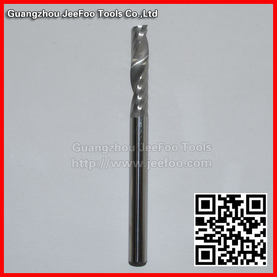 8*35*100L One Spiral Flute Bits Tungsten Carbide End Mill Engraving Tool Bits / Cutting Tool  цены