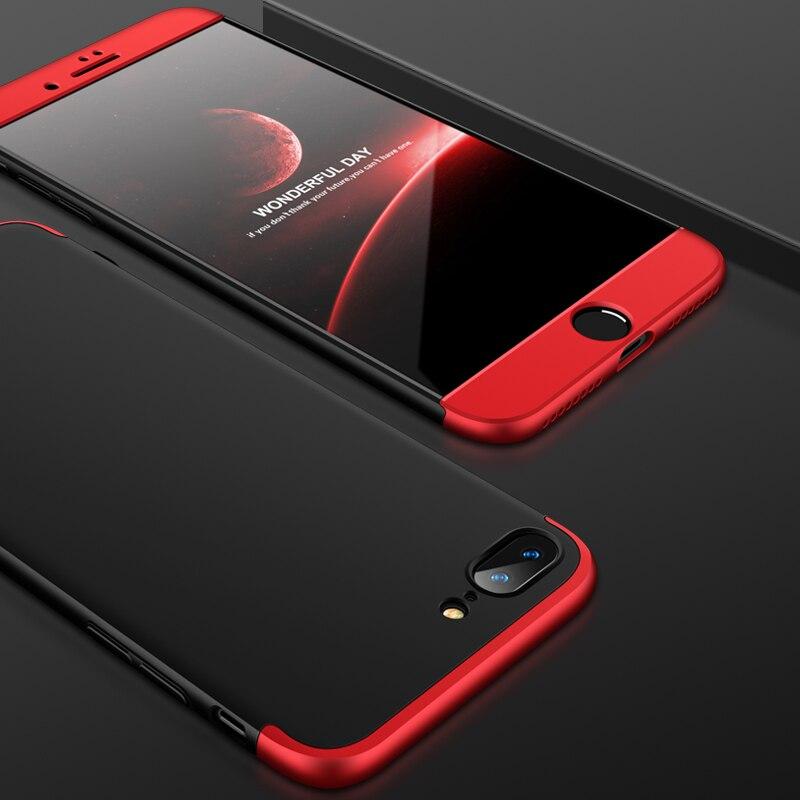 For Coque iPhone 8Plus Case 6plus iPhone 6s Cover 360 Full