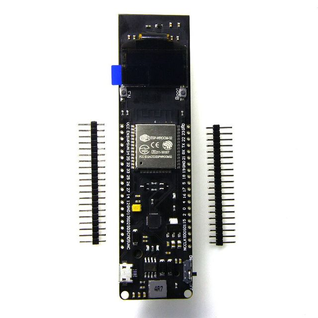 TTGO WiFi & Bluetooth Battery ESP32 Rev1 0.96 inch OLED development tool