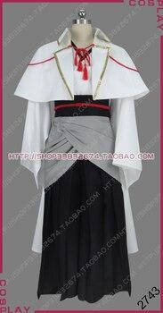 Touken Ranbu Katsugeki Touken Danshi Sword Warrior Saniwa Sage Kimono Outfit Cosplay Costume S008