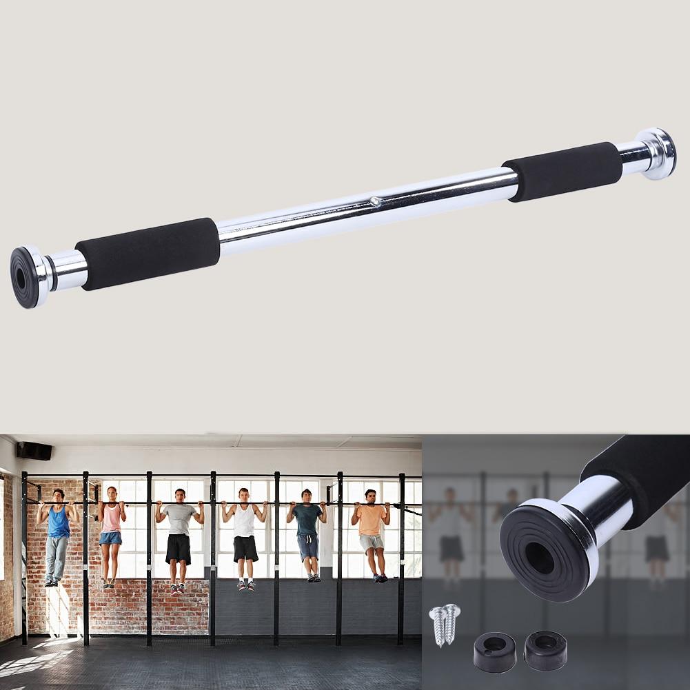 Сталь 100 кг Регулируемый дверь турники упражнения тренировка подбородок подтянуть Training Спорт бар тренажеры для домашнего спортзала