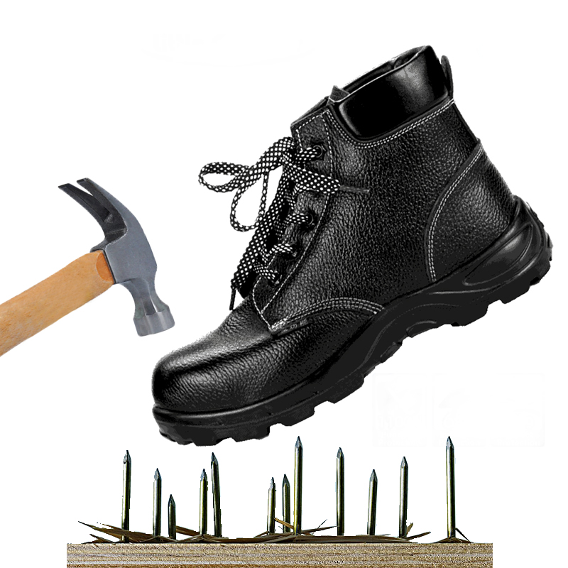 Safety Steel Toe Shoes Shoes Anti Insulation Anti Smash