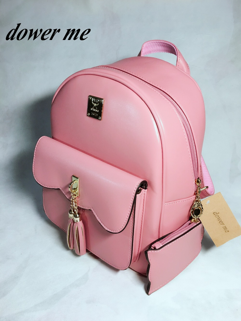 M76-79 Shoulder bag female Korean version pu backpack fashion simple college style ladies bag Japan and South Korea 2017