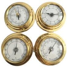 جهاز قياس الرطوبة عالي الجودة 4 بوصة 4 قطع/مجموعة 9193 مقياس حرارة للساعات وساعة محطة الطقس