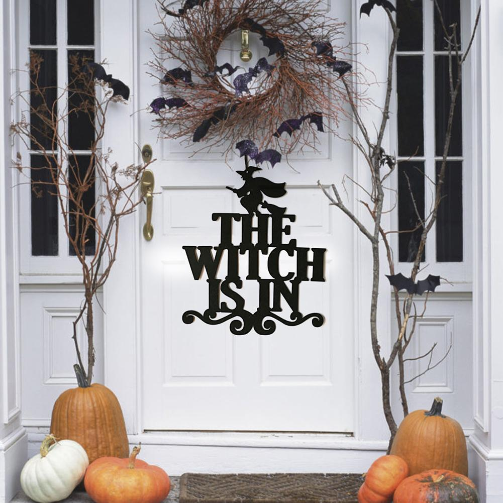 The Witch Is In Halloween Party Home Decor Non Woven