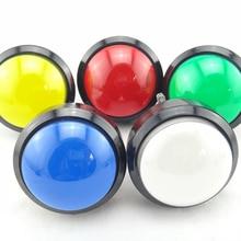 60 мм Подсветка для арок Push Button12v светодиодный круглая кнопка Mulitcade для аркадных машин 7 цветов
