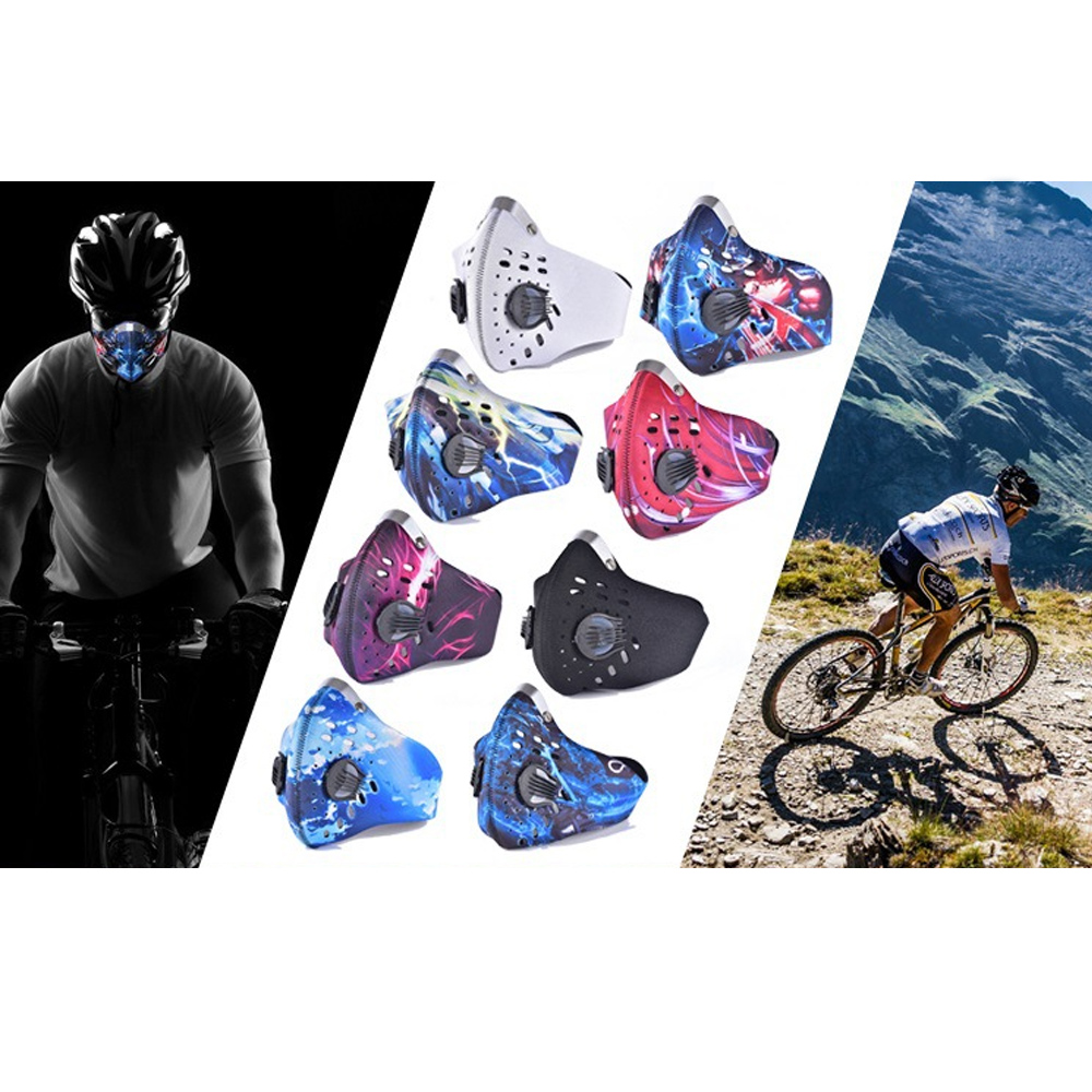 1Pcs Professional PM2.5 Cycling Mask Unisex Dust Proof Anti-smog Breathable Mouth  Diving