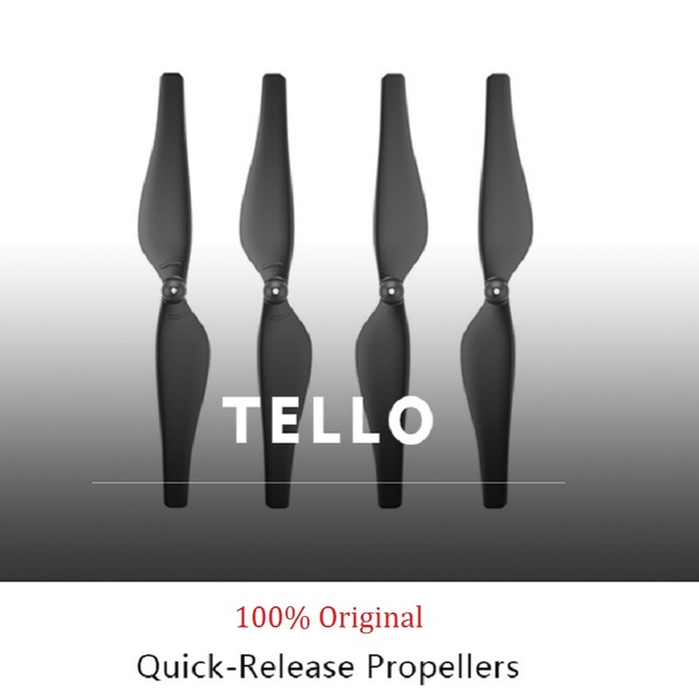 US $2 54 49% OFF 2 Pairs 100% Original Tello Propellers 3044P Quick Release  Propeller For DJI TELLO Drone Accessories-in Propeller from Consumer