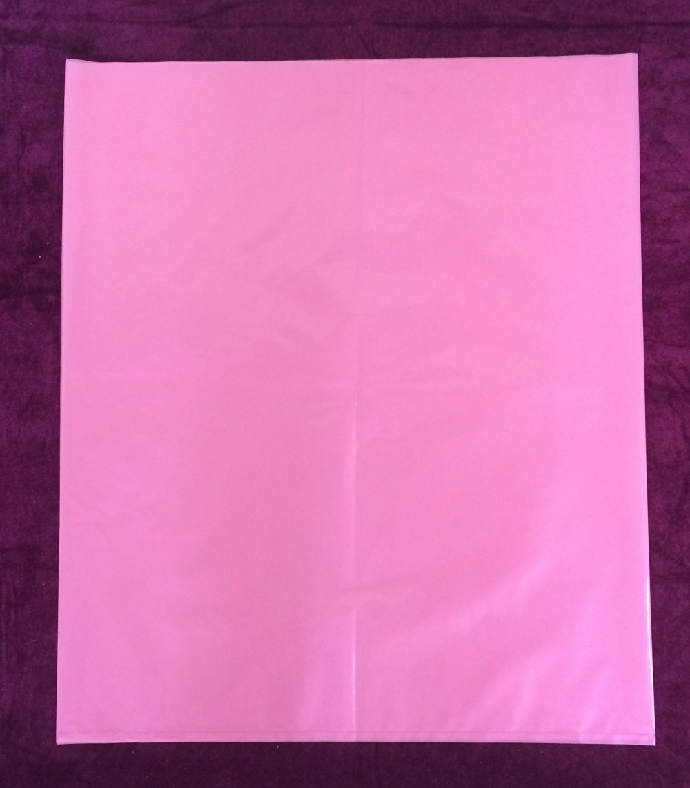 100pcs Pe pink anti - static flat pocket 50 * 600CM machine equipment dust bag 50x60cm