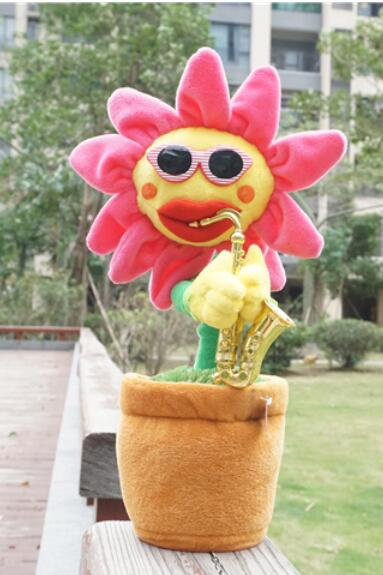 60 First edition playlist Plush toys enchanting flowers sunflowers Singing sunflower Can dance play saxophone Home wedding dies ...
