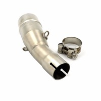 Motorcycle Modified slip on Exhaust Pipe For Yamaha XMAX X MAX 250 300 400 XMAX250 2017 2018 17 18