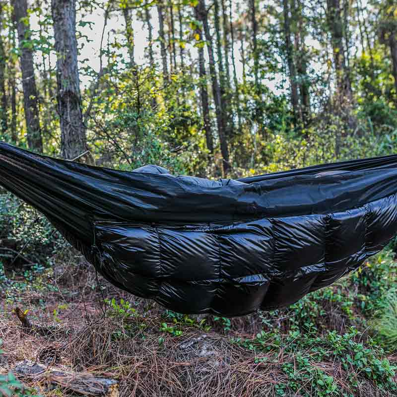 Onetigris Winter Hammock Under-quilt Goose Down Full Length Hammock Underquilt Under Blanket 23 F To 1.4 F Sports & Entertainment -5 C To -17 C Sleeping Bags