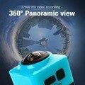 360 Graus Da Câmera Panorâmica Cube360 Esporte Action Camera 720 P mini Camera 360x190 Wide-Angle wi-fi 360 Filmadora Câmera de vídeo