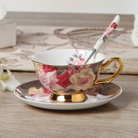 Europe Rose Bone Tea Sets 2