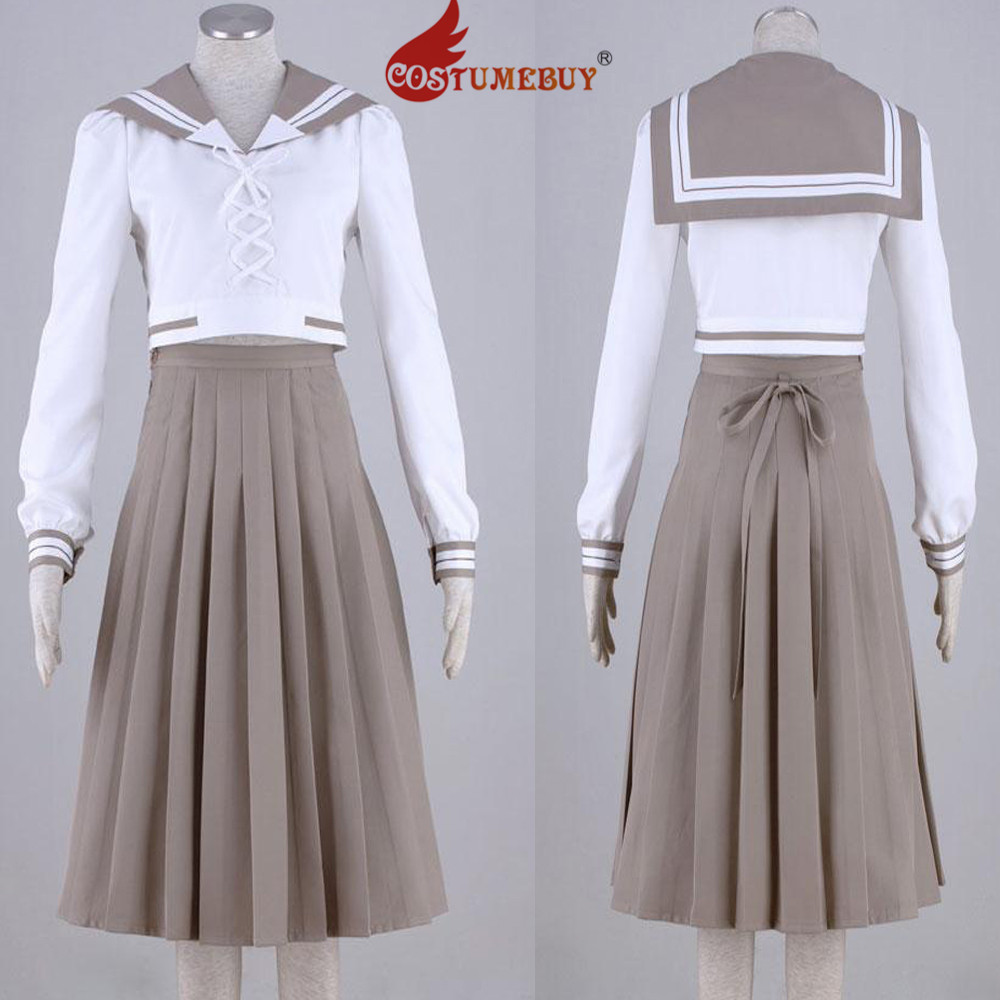 CostumeBuy Sailor Moon Kino Makoto Sailor Jupiter School Uniform Suit Costume Adult Girls Summer Autumn Top Skirt Costume L920