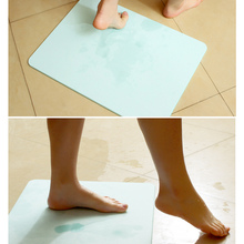 Diatomaceous Earth Water Absorption Mold Floor Mats Bathroom Strong Absorption Of Convenient Household Non-Slip Absorbent Pads