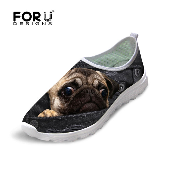 Womens Slip Ons-Cute Dog Print Slip Ons Shoes for Women Choose Your Pet Breed 11, Biewer Terrier