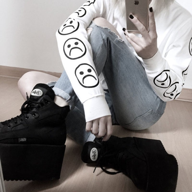 HTB1vEbCNFXXXXbRaXXXq6xXFXXXe - Sad Faces Emoticon Sweatshirt PTC 07