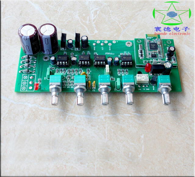 US $15 5 |LF80 Bluetooth HIFI Tone Board Preamp Board with Subwoofer Audio  Output-in Circuits from Consumer Electronics on Aliexpress com | Alibaba