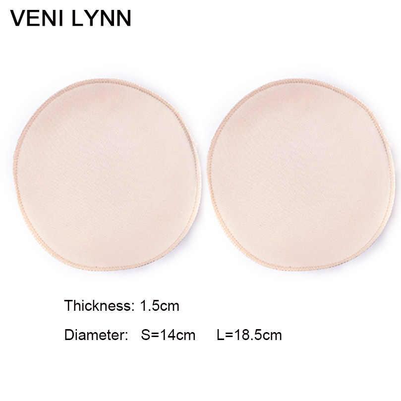 ce45f272851 ... VENI LYNN 1.5cm Thick Round Sponge Butt Enhancer Pads Hip Up Pad Fake s  and ...